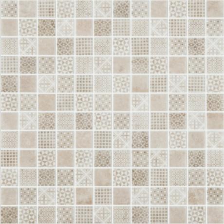 Mosaiik Born Beige 25x25x4,5mm (315x315mm) - Hansas Plaadimaailm