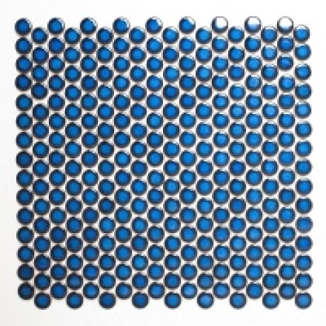 Mo 112 Knopf 451 uni blau glänzend - Hansas Plaadimaailm
