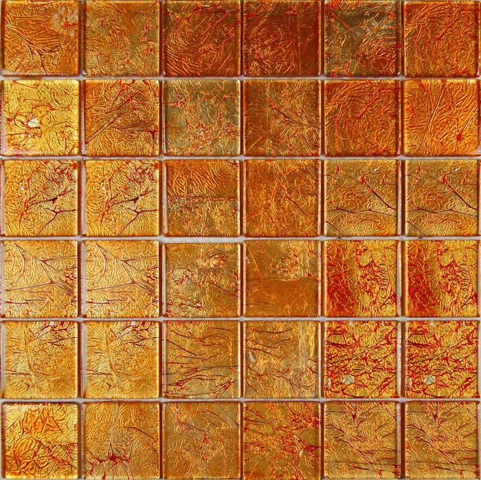 Mo 46A Klaasmosaiik Orange 5x5 uus VÄLJA - Hansas Plaadimaailm