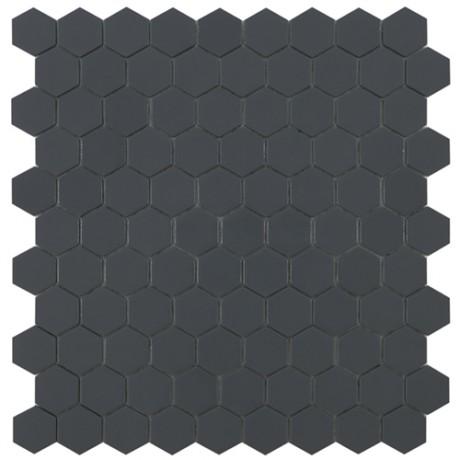 Mo Basic Matt Dark Grey 908 Hex 3,5x3,5 - Hansas Plaadimaailm