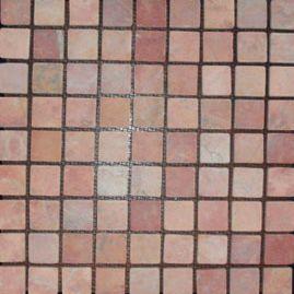 Mo Parquet pink/red 3x3 - Hansas Plaadimaailm