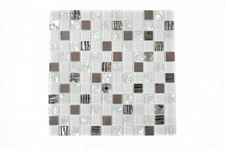 Mo 231 Crystal/Edel weiss CM 424 23x23x4mm - Hansas Plaadimaailm