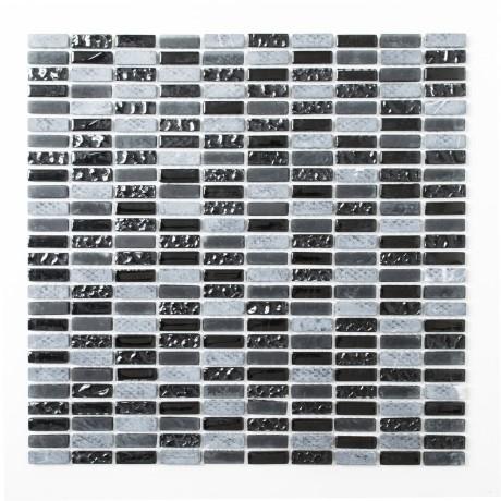 Mo 164 XCM XS99 Triip Crystal/Stein mix grau/schwarz 10x30x8mm - Hansas Plaadimaailm