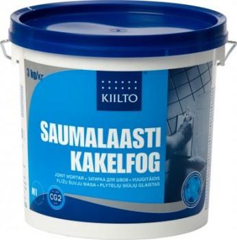 Kiilto vuugitäidis 40 hall 3kg - Hansas Plaadimaailm