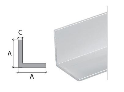 Kandiline L nurgaliist ALS/K20 anodeeritud 20/2600mm(81749) - Hansas Plaadimaailm