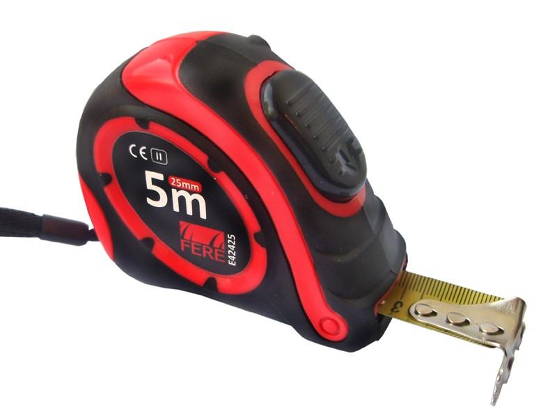 Mõõdulint magnetiga Self Lock 5m/25mm E42425 - Hansas Plaadimaailm