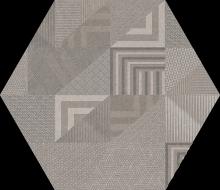 Hex Atlanta GEO grey R9 21x25 - Hansas Plaadimaailm