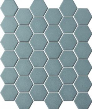 UNGLAZED HEXAGON ANTHRACITE SHC20005 R11 51x59mm - Hansas Plaadimaailm