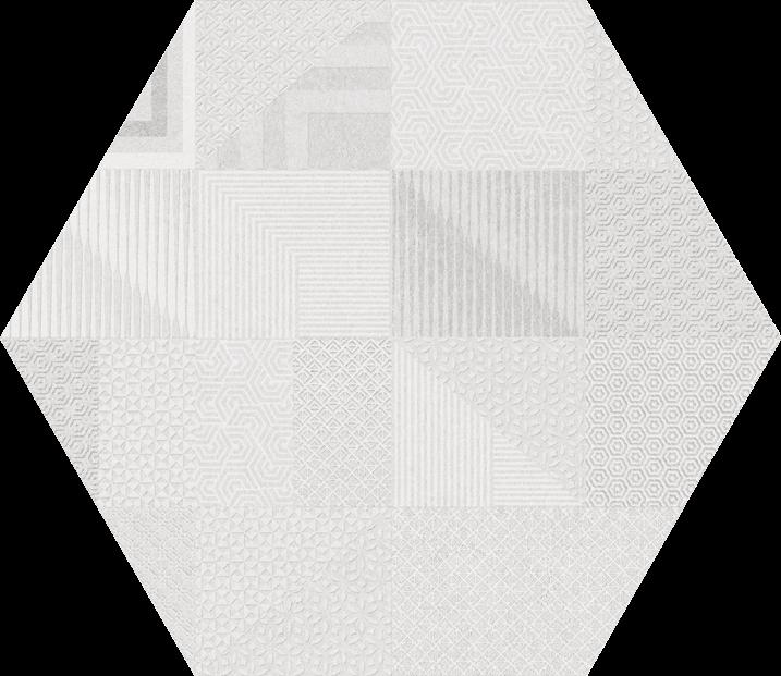 JÄÄK Hex Atlanta GEO white R9 21x25 - Hansas Plaadimaailm