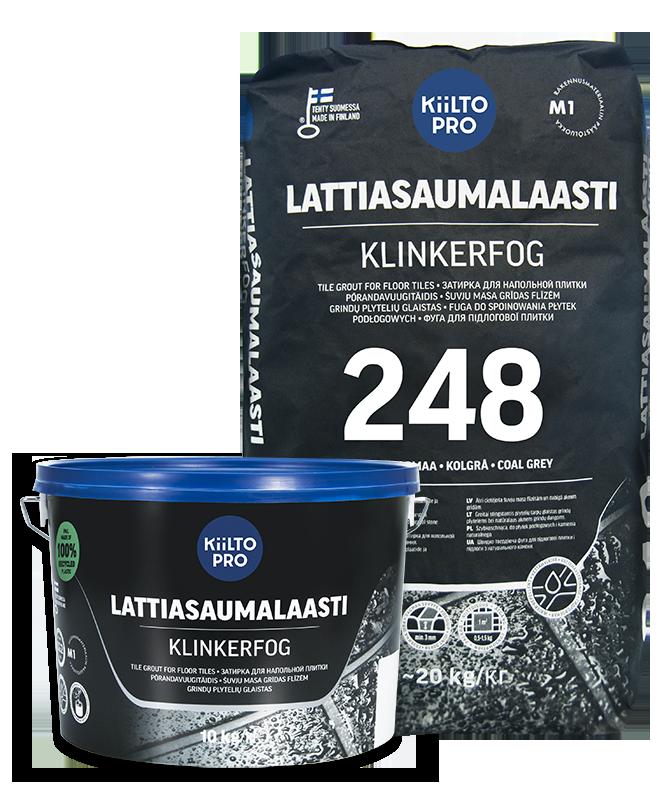 Kiilto vuugitäidis 250 must 3kg - Hansas Plaadimaailm