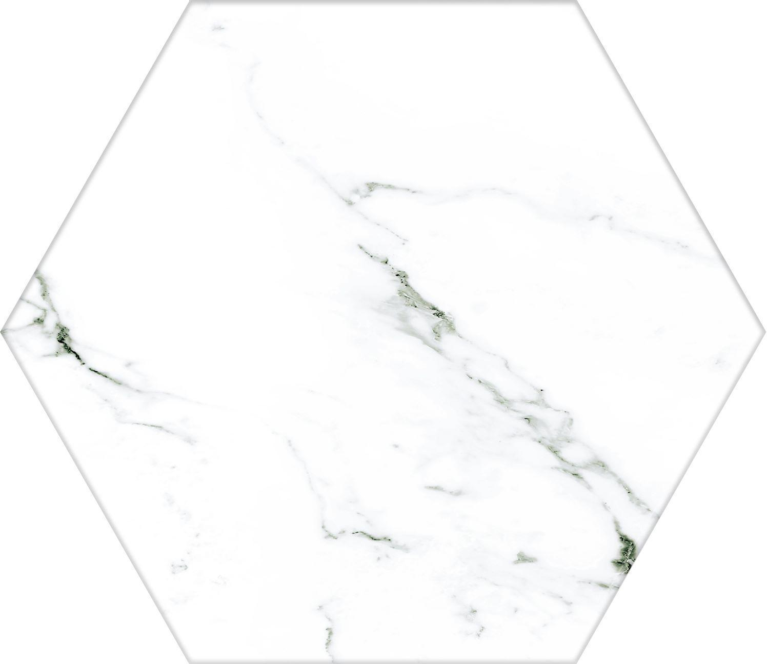 Calacatta 7334 Hex 22x25x1 R9 - Hansas Plaadimaailm