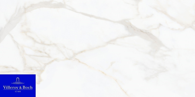 Nocturne white gold polished 2730-ZN2P rect. 60x120x1 - Hansas Plaadimaailm