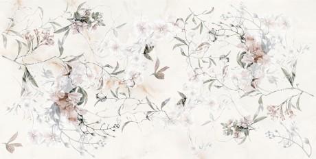 Angora Floral Motif bone 273631 30x60x0,85 - Hansas Plaadimaailm
