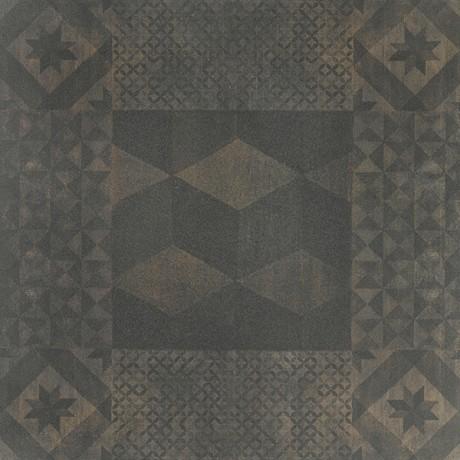 Uphill kupfer dekoor UPH403 R10/B rect. 60x60x0,9 II sort - Hansas Plaadimaailm