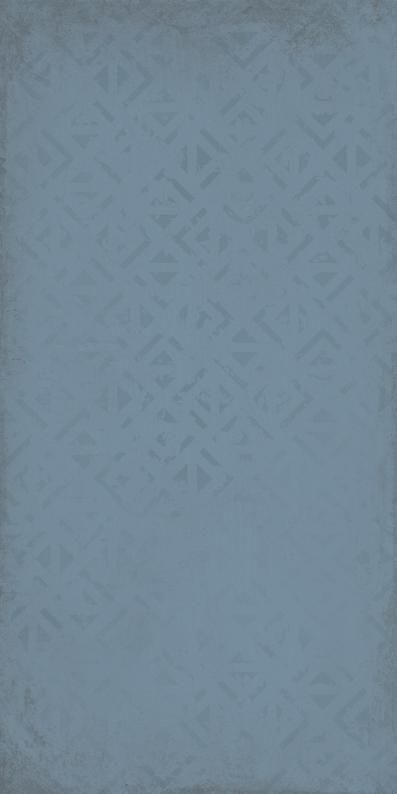 Kate dekor blau matt 20x40x0,7 I sort - Hansas Plaadimaailm